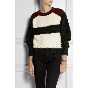 Isabel Marant Owel Colour Block Knit Sweater 34